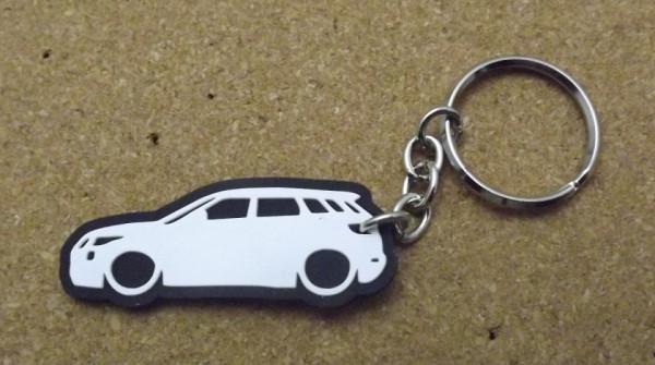 Porta Chaves com silhueta de Range Rover