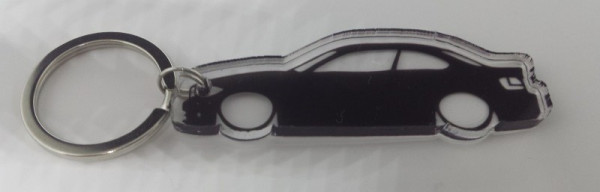 Porta Chaves de Acrílico com silhueta de Bmw E82