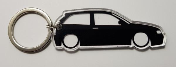Porta Chaves de Acrílico com silhueta de Seat Ibiza 6K