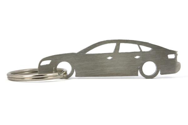 Porta Chaves em inox com silhueta com Audi A5 8T Sportback
