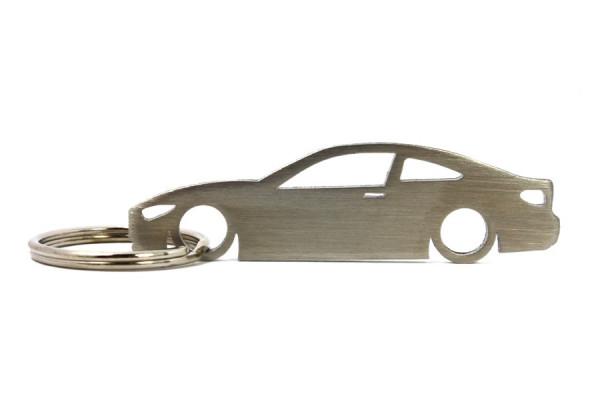 Imagens Porta Chaves em inox com silhueta com BMW F32 coupe