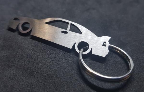 Porta Chaves em inox com silhueta com Nissan Skyline R33