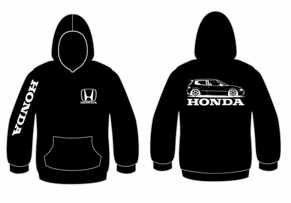 Imagens Sweatshirt com capuz para Honda EG6