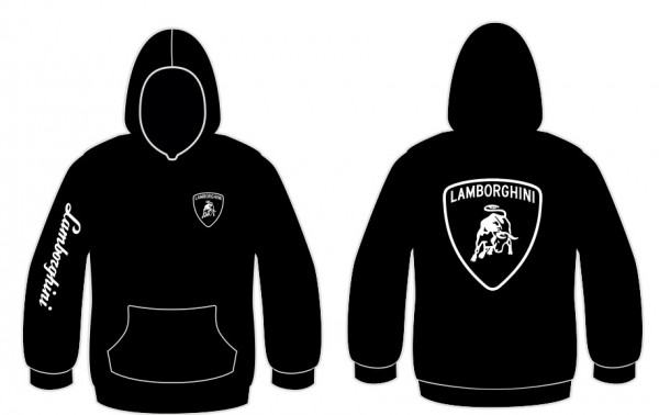 Sweatshirt com capuz para Lamborghini