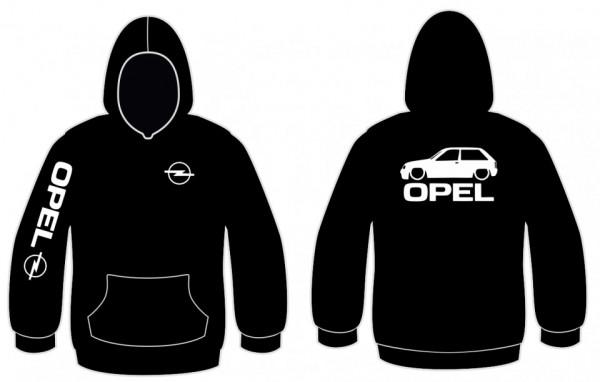 Imagens Sweatshirt com capuz para Opel Corsa A