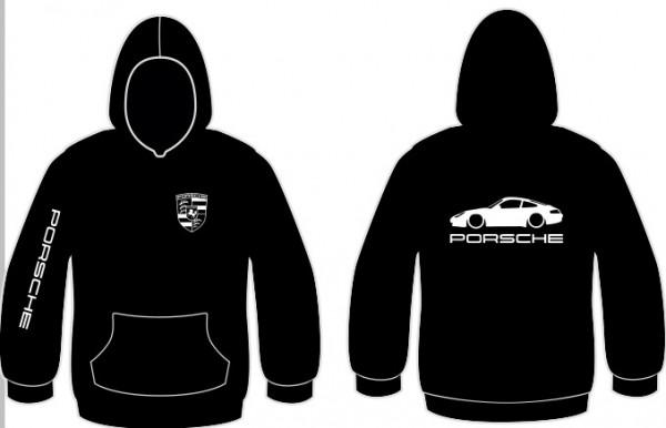 Sweatshirt com capuz para Porsche 911