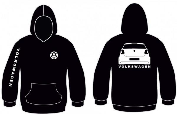 Imagens Sweatshirt com capuz para Volkswagen Polo 6R