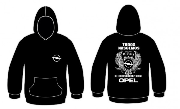 Imagens Sweatshirt com capuz Todos Nascemos (Opel)