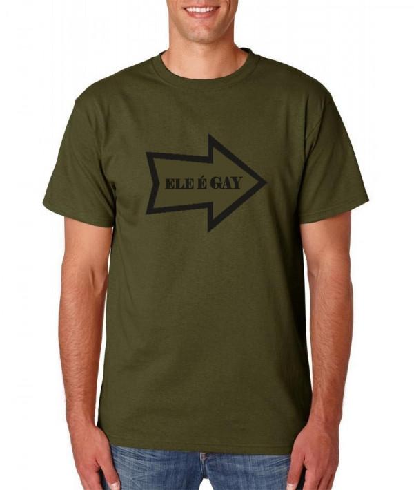 Imagens T-shirt  - Ele é Gay