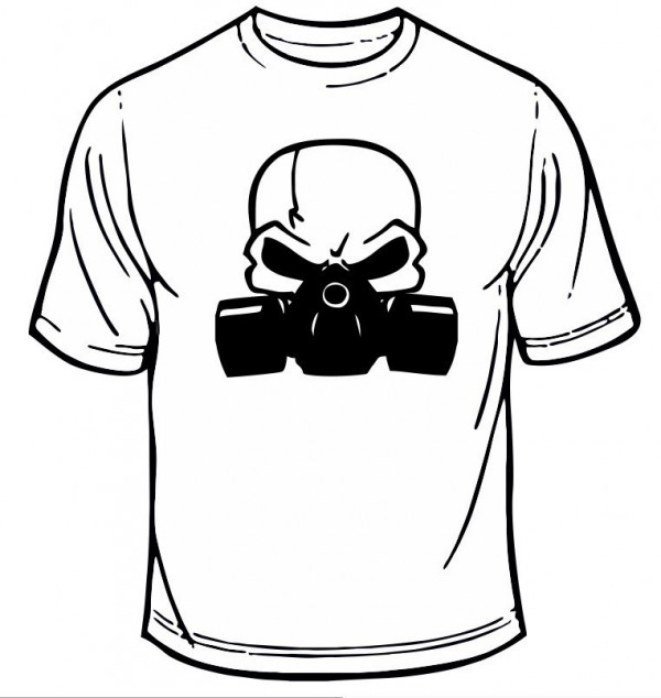 Imagens T-shirt - Máscara de Gás 2