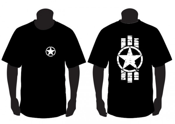 Imagens T-shirt para Army Star