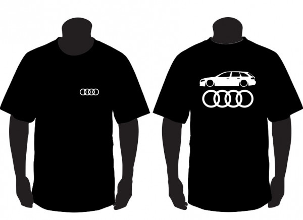 Imagens T-shirt para Audi A4 B8 Avant