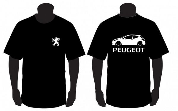 Imagens T-shirt para Peugeot 207
