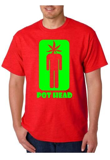 Imagens T-shirt  - POT HEAD