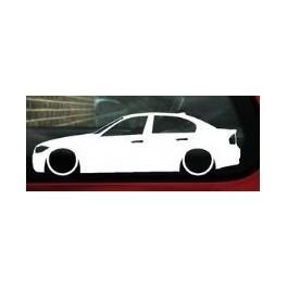 Autocolante - BMW E90 Limousine