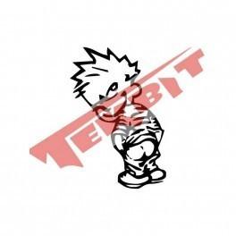 Autocolante - Calvin 3 - Calvin e Hobbes