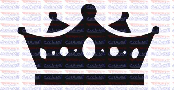 Autocolante - Coroa 8