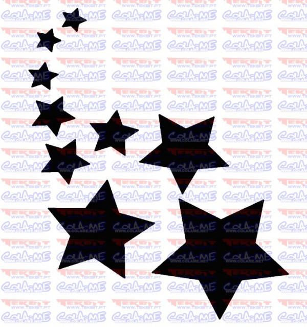 Imagens Autocolante - Estrelas