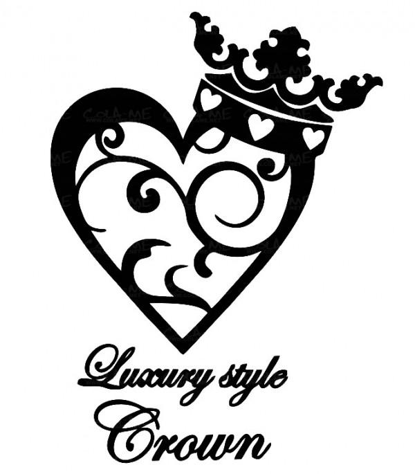 Imagens Autocolante - Luxury Style Crown
