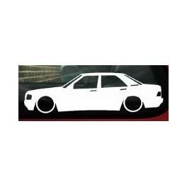 Autocolante - Mercedes 190