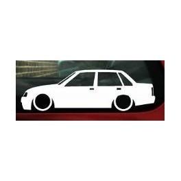 Autocolante - Opel Corsa A 4 Portas