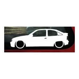 Autocolante - Opel Kadett