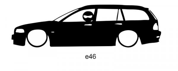 Autocolante para E46 Com Stig