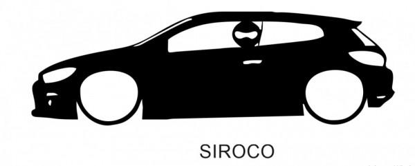 Autocolante para Scirocco Com Stig