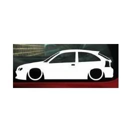 Autocolante - Rover 25 / MG ZR