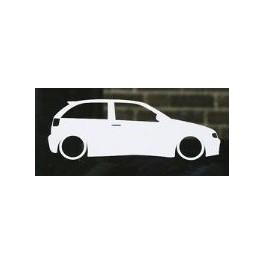 Autocolante - Seat Ibiza 6K2