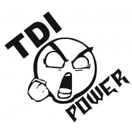 Autocolante - TDI Power