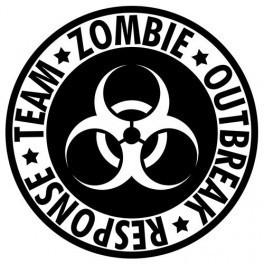 Autocolante - Zombie Outbreak 2