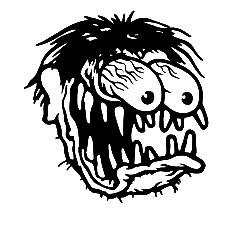 Autocolante - Zombie