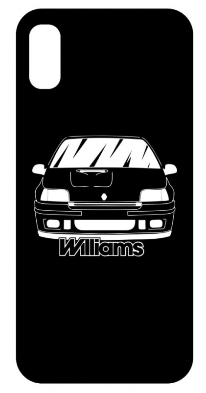 Capa de telemóvel com Renault Williams