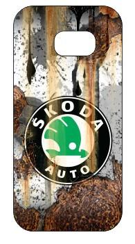 Imagens Capa de telemóvel com Skoda - Estilo Retro