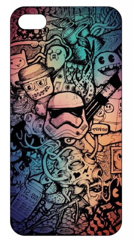 Imagens Capa de telemóvel com Sticker bomb