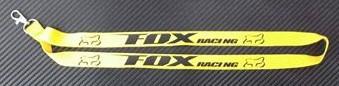 "Fita Porta Chaves com ""FOX racing"""