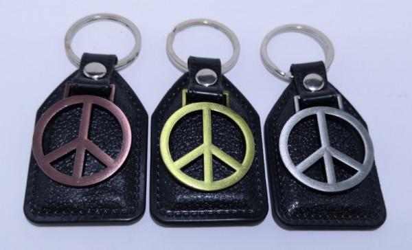Fita porta chaves para simbolo da paz