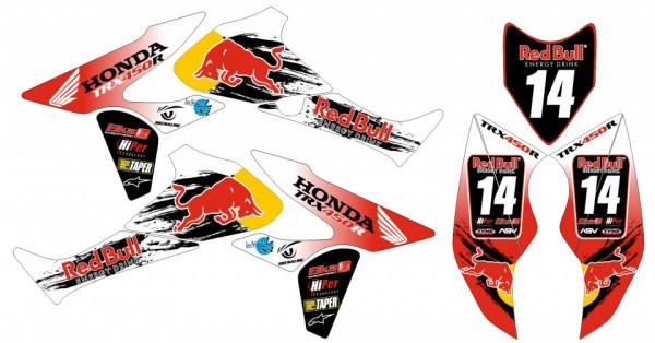 Imagens Kit Autocolantes Para HONDA TRX 450R 05-08