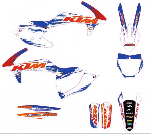 Imagens Kit Autocolantes Para Moto - KTM SX / SXF 16-18
