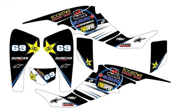 Imagens Kit Autocolantes Para Suzuki LTZ 400 03-08