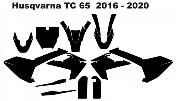 Imagens Molde - Husqvarna TC 65 2016 - 2020