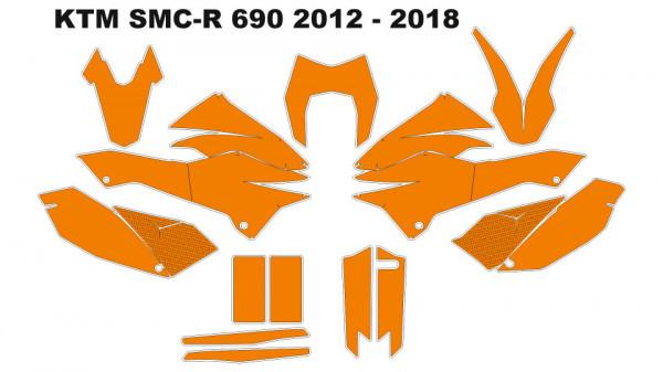 Imagens Molde - KTM SMC-R 690 2012 - 2018