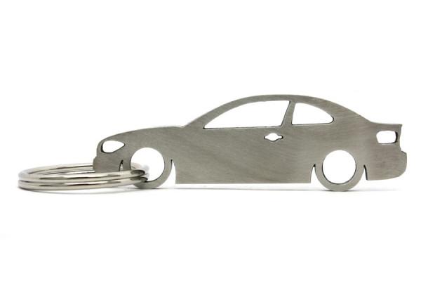 Imagens Porta Chaves em inox com silhueta com BMW 1M E82