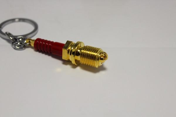 Porta Chaves - Vela Dourado/Vermelho