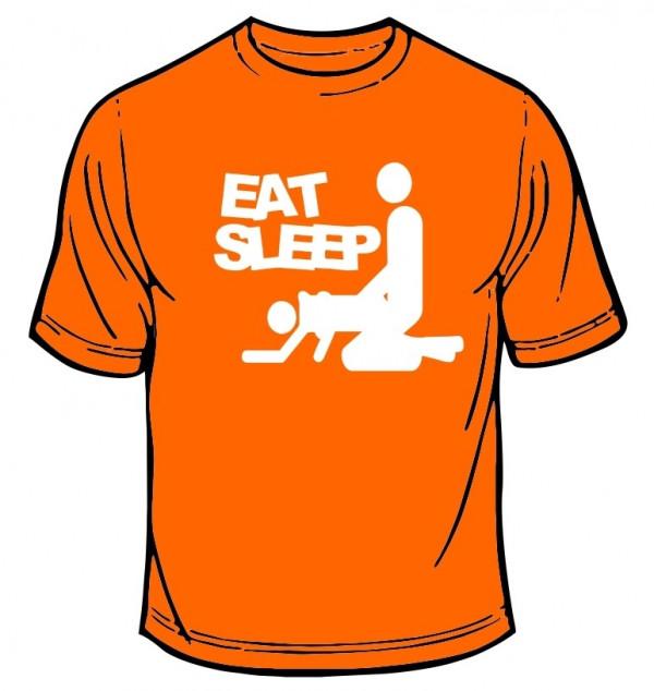 Imagens T-shirt  - Eat Sleep F*ck