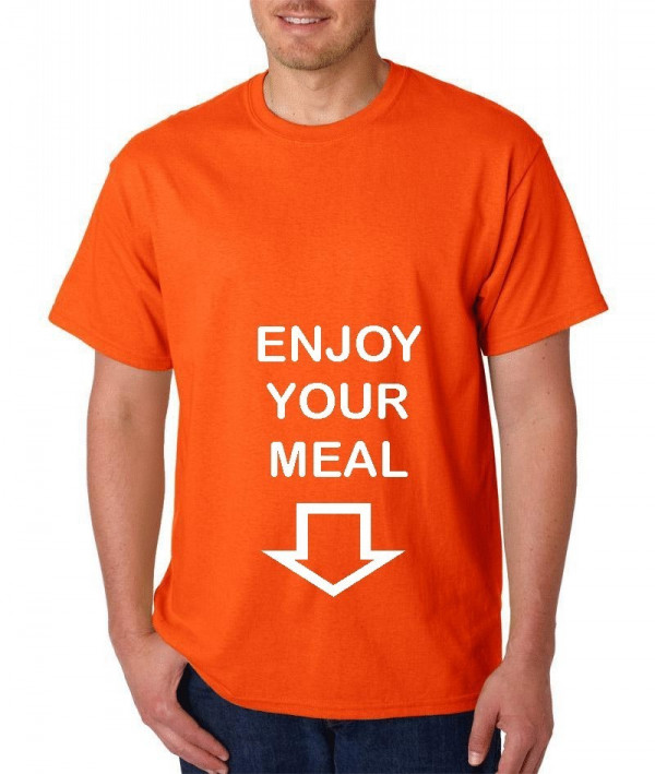 Imagens T-shirt  - Enjoy your meal