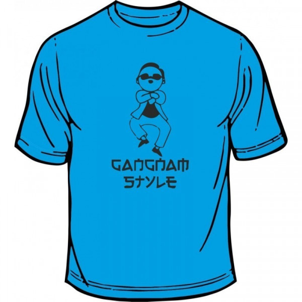Imagens T-shirt - Gangnam Style