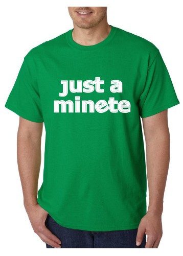 Imagens T-shirt  - Just a Minete