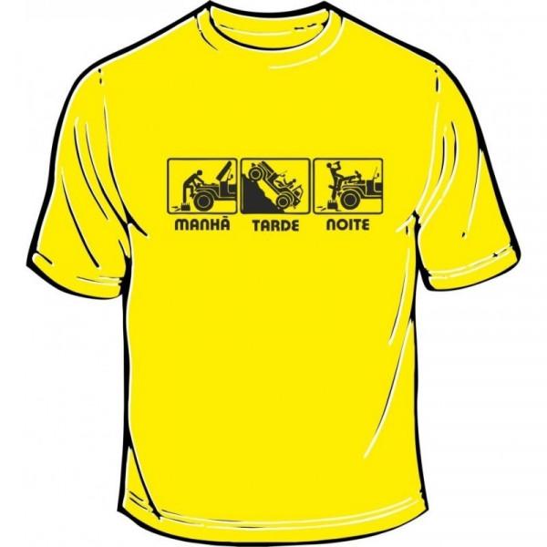 Imagens T-shirt - Manhã Tarde Noite - Jipe
